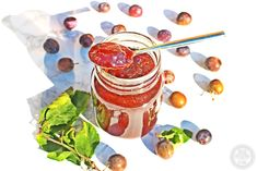 Damson Jam plus my tip for quick pitting! Damson plums are naturally sour and full of pectin which makes them perfect for jam making, enjoy this fab recipe! Damson Jam, How To Make Jam, Preserves, Jelly, Chutneys, Recipes, Pickles, Food, Preserve