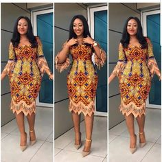Last Eye-Popping Ankara Gown Styles. This season Eye-Popping Ankara Gown Styles started with a bang, African Dresses For Women, African Print Dresses, African Attire, African Fashion Dresses, African Wear, African Women, Ankara Styles For Women, African Outfits, Ankara Fashion