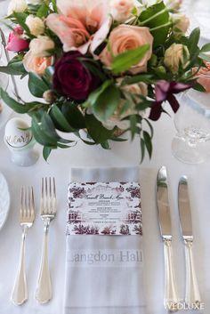 The Morning Brunch | Langdon Hall | Photography By: 5ive15ifteen Photo Company | WedLuxe Magazine | #wedding #luxury #weddinginspiration #tabledecor