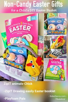Non-Candy Easter Basket Ideas for ages 5 and up