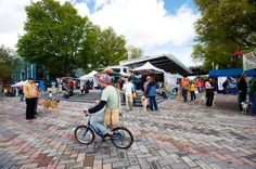 "Portland Saturday Market | ""Operating since 1974 the Portland Saturday Market is the largest continually operating outdoor arts and crafts market in the nation. Located in Waterfront Park and Ankeny Plaza in Portland's historic Old Town the Market is one of the most popular shopping destinations for local handcrafted goods. Over 250 small businesses and individuals artists from across the NW region gather each week with live music and a plethora of exotic foods."" - TripAdvisor"