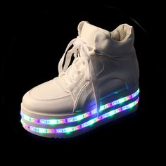 959467e636ac Hot sale! Colorful led light up platform shoes flashing sneakers Sneakers  2016