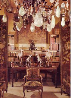 Coco Chanel's private apartment at 31, rue Cambon, Paris   Coco Chanel #CocoChanel #31RueCambon Visit espritdegabrielle.com   L'héritage de Coco Chanel #espritdegabrielle