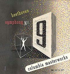 Columbia Records — Beethoven Symphony No.9 Cover by Alex Steinweiss