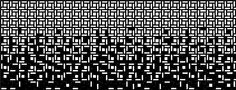 Gradiated pattern
