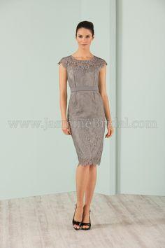 Jasmine Bridal Jasmine Black Label Style M180001 in Silver //
