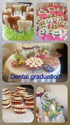 Dental themed graduation party. So fun!