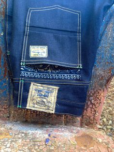 dr.collectors 13oz japanese indigo denim