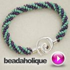 Tutorial - Videos: How to Braid Beaded Kumihimo and Make a Bracelet | Beadaholique