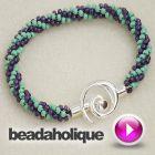 Tutorial - Videos: How to Braid Beaded Kumihimo and Make a Bracelet | Beadaholique