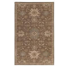 Charlton Home Whittaker Taupe/Beige Area Rug Rug Size: Square 4'