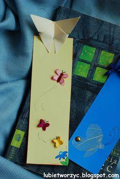 Zakładka do książki z motylem origami.  #zakladkadoksiazki #zakladka #ksiazka #motyl #motylorigami #origami #lubietworzyc #instrukcja #jakzrobic #krokpokroku #DIY #handmade #bookmark #book #butterfly #origamibutterfly #instruction #howto