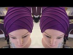 Special Day Different Shawl Binding Models – Harika El işleri-Hobiler Hair Scarf Tutorial, Hijab Style Tutorial, Hijab Turban Style, Sewing Scarves, Crochet Snowflake Pattern, Head Scarf Tying, Moda Emo, Manhattan, Fibre Textile