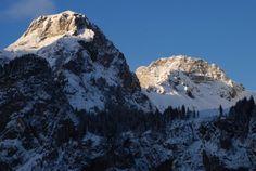 Alpenglow - Kandersteg Swizterland #landscape #alpenglow #kandersteg #swizterland