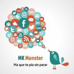 Pía que te pía sin parar  #publicidad #redessociales #marketing #MKmonster