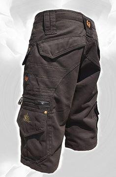 Men Short Pants Hipster Tribal Steampunk Cargo Pants por fairyland6