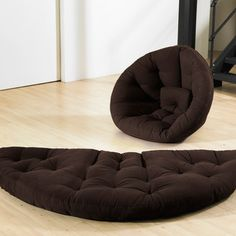 "Nido Futon 72"" Chocolate now featured on Fab."