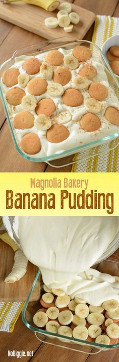 Check out Magnolia Bakery Banana Pudding - NoBiggie 13 Desserts, Delicious Desserts, Yummy Food, Trifle Desserts, Filipino Desserts, Strawberry Desserts, Magnolia Bakery Banana Pudding, Yummy Treats, Sweet Treats