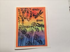 Love the colors Creative Cards, Card Stock, Stamps, Ink, Colors, Inspiration, Seals, Biblical Inspiration, Paper Board