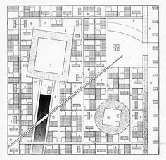 AGADIR CONVENTION CENTRE // OMA Oma Architecture, Architecture Drawings, Hospital Architecture, Factory Architecture, Architecture Graphics, Chandigarh, Urban Design Plan, Schematic Design, Rem Koolhaas