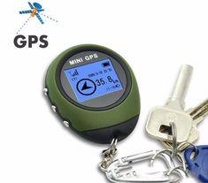 Remarkable Mini GPS Keychain