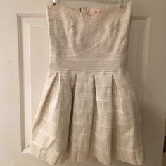 latiste Dresses   Skirts - White Strapless Bandage Dress White Skirts f5fb09098