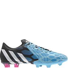 new style c3684 66f5d adidas Predator Instinct FG Solar Blue Core White Black Firm Ground Soccer  Cleats - model M17642