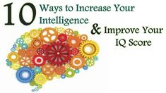 10 Ways to Increase Your Intelligence & Improve Your Brain Power. Here are 10 simple ways you can increase your brain power and improve your intelligence! Train Your Brain, Train Your Mind, How To Train Your, Self Actualization, Bad Memories, Meditation Techniques, Types Of Yoga, Helpful Hints, Improve Yourself