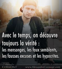 #citation #citationdujour #proverbe #quote #frenchquote #pensées #phrases #french #français #amour Quote Citation, Les Hypocrites, Mots Forts, Strong Words, French Quotes, Holy Spirit, Affirmations, Qoutes
