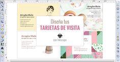 Diseña tus tarjetas de visita con Inkscape