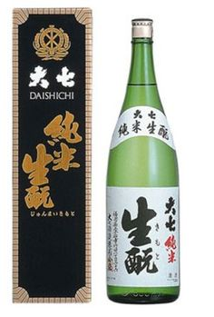 Amazon.co.jp: 大七酒造 大七 純米生もと 1800ml: 食品・飲料・お酒