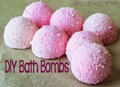 DIY Fizzy Bath Bombs for Mother's Day