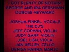 I Got Plenty of Nothing Joshua Finkel, Vocals The Dj, Thanksgiving 2020, Current Events, Acting, Stress, Songs, Projects, Log Projects, Blue Prints
