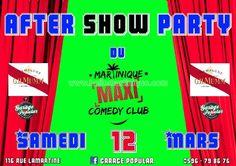 Soirée After Party du Martinique Comedy Club Vous aussi intégrez vos événements dans l'Agenda des Sorties de www.bellemartinique.com C'est GRATUIT !  #martinique #Antilles #domtom #outremer #concert #agenda #sortie #soiree