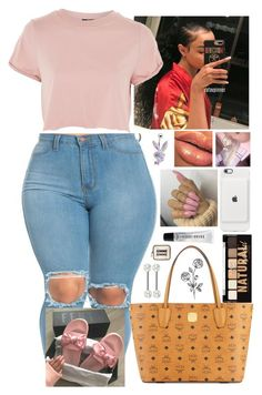 """""""8/21/17"""" by fashionfabulou ❤ liked on Polyvore featuring MCM, Topshop, NYX, Bobbi Brown Cosmetics and Forever 21"""