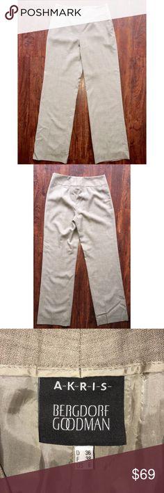 AKRIS Punto Exclusive Bergdorf Goodman Sz 6 pants Very well kept in excellent condition size 6 Akris Punto Pants