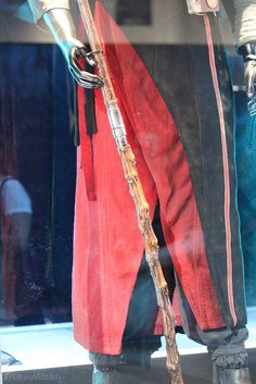 Chirrut Imwe costume detail, photographed at Star Wars Celebration London 2016