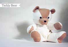 Download Joyful Teddy Bear Sewing Pattern (FREE)