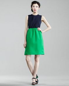 Marc by Marc Jacobs. Tate Twill Dress. This can be dressed up or down with accessories. So perfectly versatile!