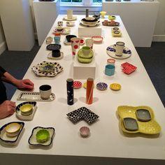 Heather Mae Erickson Ceramic Design. Penland, Focus Gallery, October/November 2014. Pick Mix / All Sorts Collection. heathermaeerickson.com