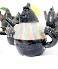 Ceramic Gorilla Teapot セラミックのゴリラティーポット Design Festa Gallery