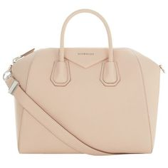Givenchy Medium Grained Antigona Tote ($2,125) ❤ liked on Polyvore featuring bags, handbags, tote bags, givenchy tote, structured handbag, man tote bag, beige tote and hand bags