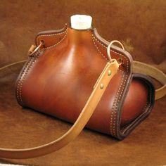 English Leather Bottle