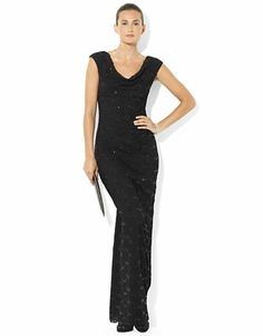 Women's Apparel | Formal/Evening | Sleeveless Sequined Gown | Lord and Taylor