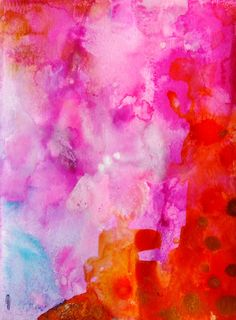 Abstract Art Abstract Painting Abstract Landscape Abstract Decor Pink Gold Contemporary Art Fine Art Watercolor Ink Abstract Wall Art by infinitepink Abstract Wall Art, Painting Abstract, Abstract Landscape, Pink Abstract, Alcohol Ink Painting, Alcohol Ink Art, Art Floral, Watercolor And Ink, Art Images
