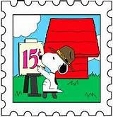 Snoopy Postage Stamp 1 by ~deck-as-ef on deviantART