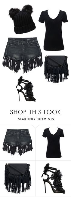 """Bez naslova #184"" by sara-mujezinovic ❤ liked on Polyvore featuring Sans Souci and Dsquared2"