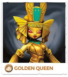 Golden Queen - Skylanders Trap Team Video Game Official Site