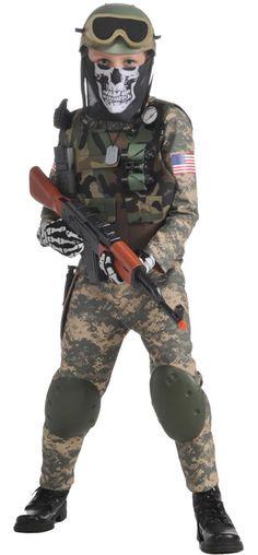 Call Of Duty Kostüme für Kinder - Kids costumes Halloween Costumes Kids Boys, Scary Costumes, Family Costumes, Boy Costumes, Adult Costumes, Costume Ideas, Military Costumes For Kids, Halloween Party, Swat Costume Kids