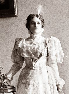 First Lady Ida McKinley, wife of William McKinley